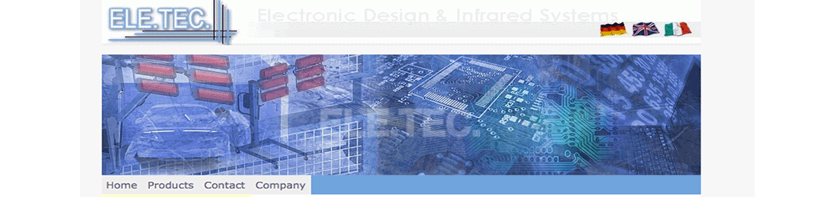 ELE.TEC. Electronic Design & infrared systems>